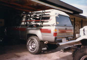 And The Ski Rack With Our S
